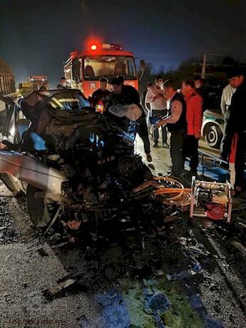 فوت یک نفر در تصادف جاده یاسوج ـ اصفهان