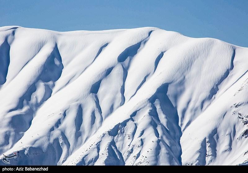 بارش برف در ارتفاعات الیگودرز