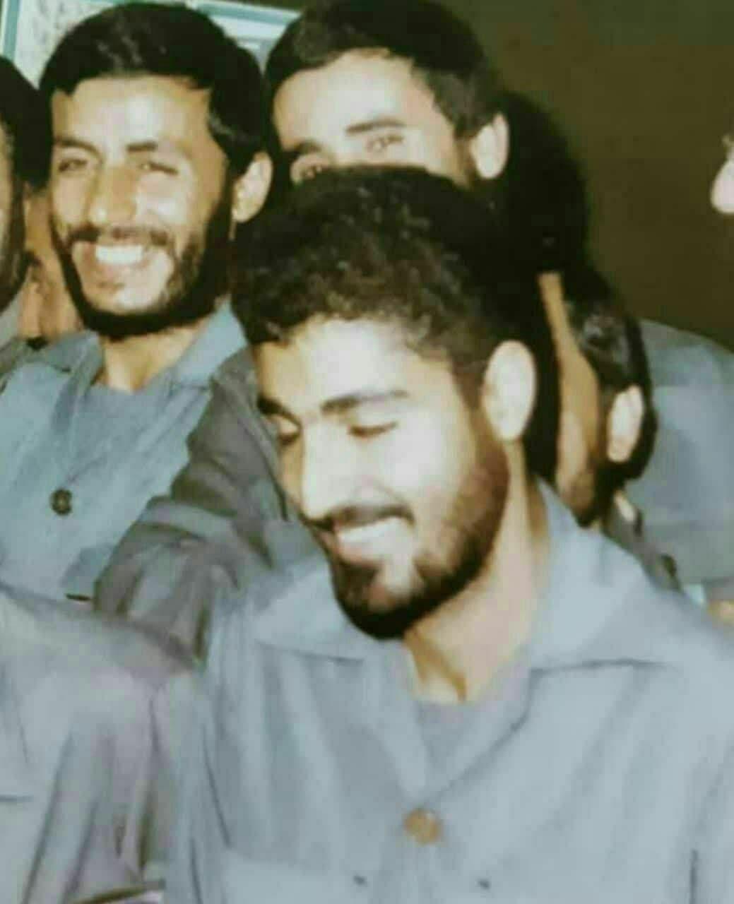 عکس/ سردار سلیمانی و شهید همت در یک قاب