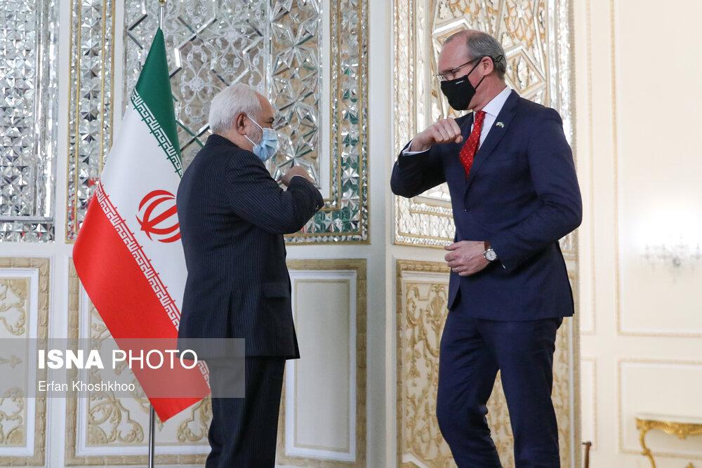 عکس/ دیدار وزیران امور خارجه ایرلند و ایران
