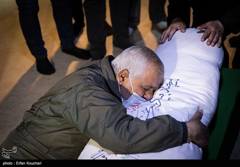 عکس/ وداع با پیکر شهید خلبان «بیرجند بیکمحمدی»