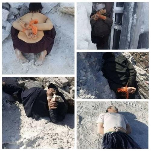 عکس/ شکنجه و کشتار ۷ کارگر شیعه در افغانستان