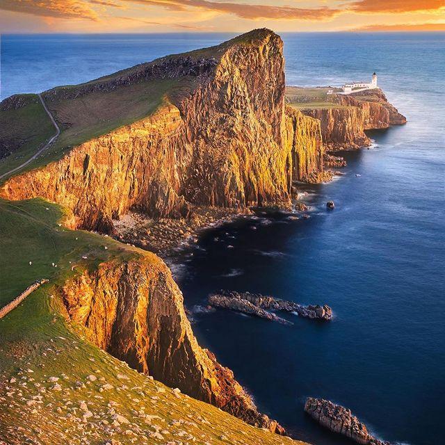 نمایی زیبا از طبیعت اسکاتلند