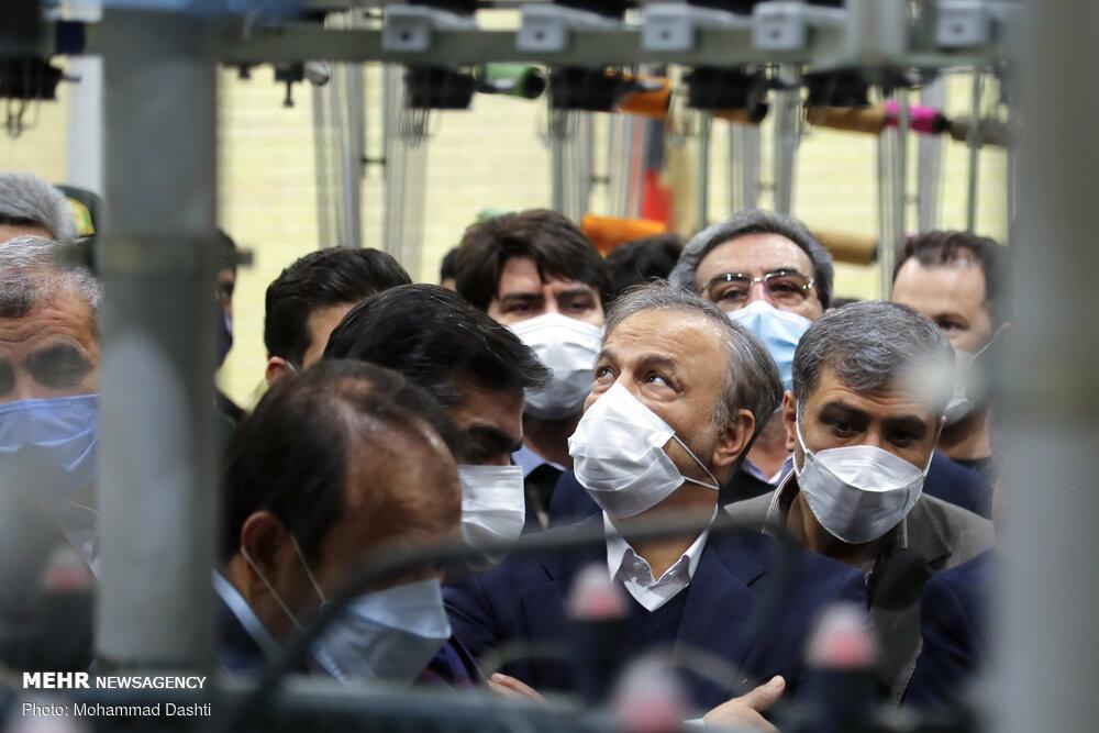 عکس/ ازدحام خطرناک مدیران دور وزیر صمت