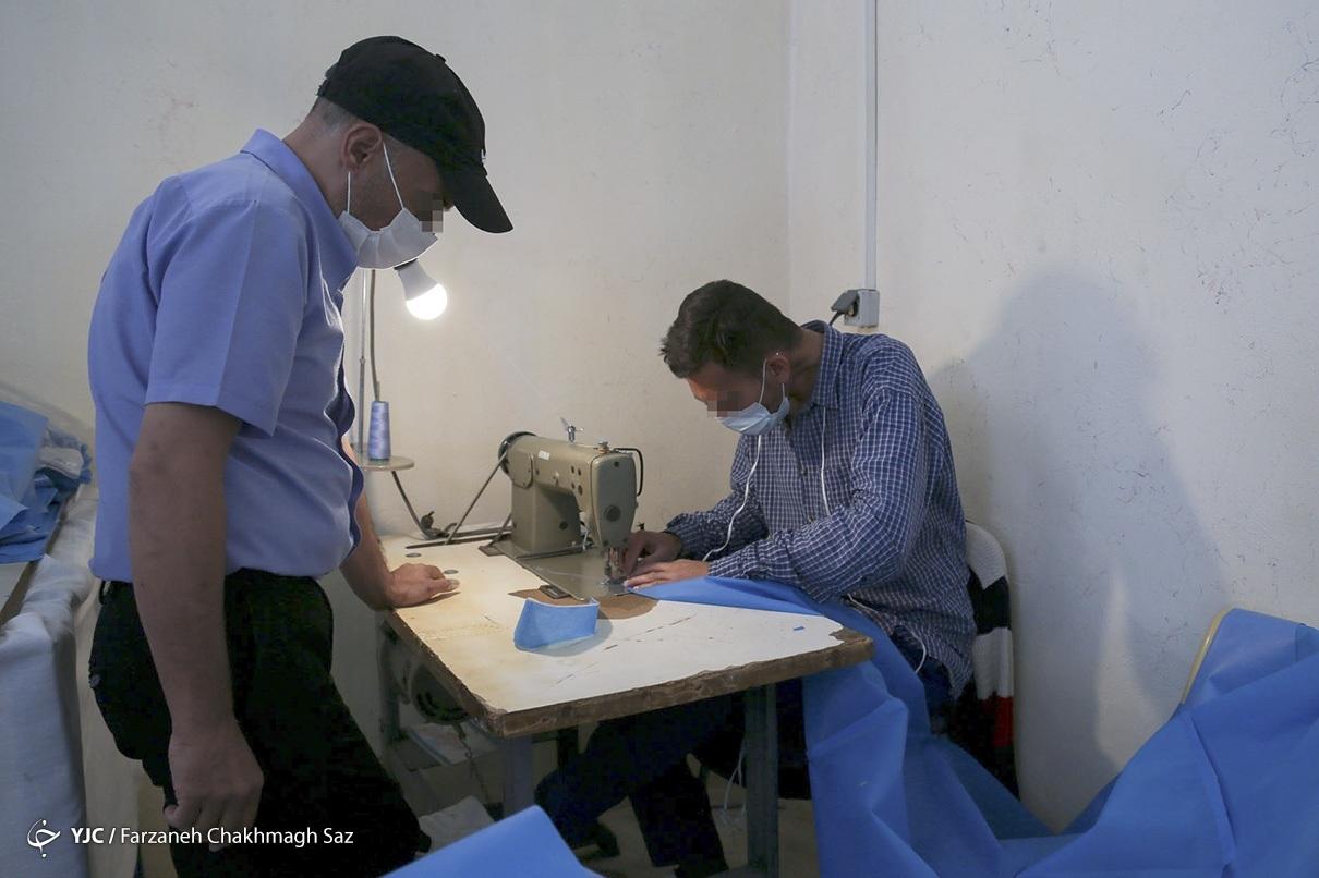 عکس/ آموزش و اشتغالزایی برای بهبودیافتگان از اعتیاد