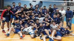 قهرمانی نوجوانان قائم شهری در لیگ دسته یک والیبال