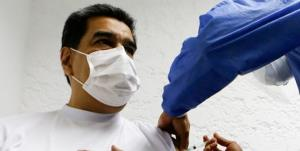 مادورو و همسرش واکسن روسی کرونا تزریق کردند