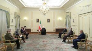 پیام روحانی به آمریکا و اروپا در دیدار با تسهیلگر اجرای برجام