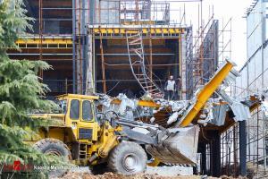 تخریب ویلاهای غیرقانونی در کلاک