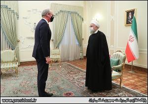 وزیر خارجه ایرلند با رئیس جمهور دیدار کرد