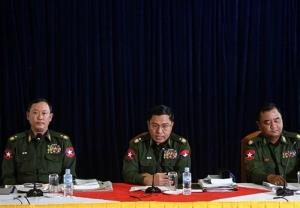 طرح یک ادعا: ارتش میانمار به دنبال ارتباط با آمریکا است