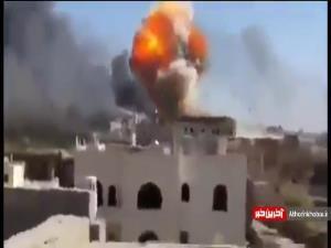 حملات شدید جنگنده های سعودی به صنعا