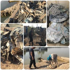 تصاویری از انتقال باقیمانده هواپیمای «شهید بیرجند بیک محمدی» به کشور