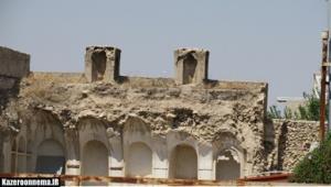 خانه تاریخی در بافت اصیل کازرون با خاک یکسان شد