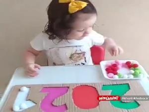ایده بازی آموزش رنگ ها به کودک زیر 3سال