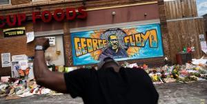 تیراندازی مرگبار در محل قتل «جورج فلوید»