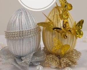آموزش ترفند تخم مرغ رنگی شیک برای سفره هفت سین