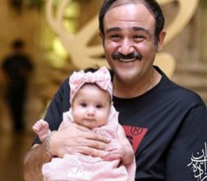 چهره ها/ سلفی مهران غفوریان با دخترش هانا
