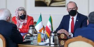 رفع کامل تحریمهای آمریکا؛ محور گفتگوی ظریف با وزیر خارجه ایرلند