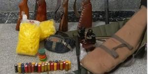 کشف ۴ قبضه اسلحه از یک شکارچی متخلف در فریمان