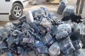 محکومیت ۹۶۰ میلیون ریالی قاچاقچی البسه در قزوین