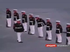 دوبله طنز؛ اشتباه محاسباتی هنگام حرکات نمایشی نظامی