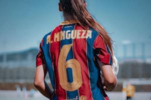 تحقق رویای خانواده مینگسا در ورزشگاه خانگی بارسلونا