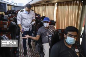 شناسایی ۹ مسافر مبتلا به کرونا در پایانه غرب اهواز
