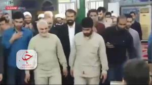 ویدئویی دیدهنشده از حضور حاجقاسم در میان گروههای جهادی