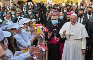 پاپ خطاب به زنان عراقی: از صمیم قلب از شما متشکرم