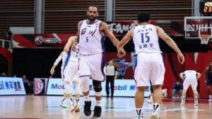 شکست یاران حدادی در لیگ بسکتبال چین