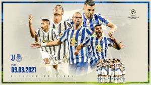 پوستر باشگاه پورتو برای دیدار مقابل یوونتوس با تصویری از طارمی