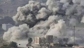 ائتلاف سعودی صنعاء را بمباران کرد
