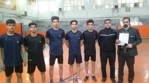 تیم طنابزنی دانشآموزان خراسان رضوی قهرمان کشور شد
