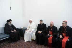 بیانیه مجمع مدرسین و محققین حوزه علمیه قم در پی دیدار پاپ و آیتالله سیستانی