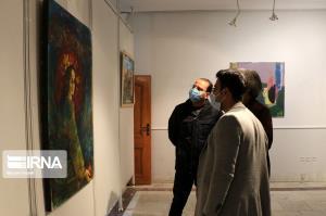 عکس/ نمایشگاه گروهی نقاشی «ترنم رنگها»