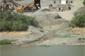 ممنوعیت برداشت شن و ماسه از رودخانه های گیلان