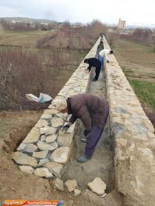 اتمام عملیات مرمت پل قلعه حاتم در بروجرد