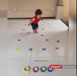تحرک و بازی با کودک زیر 2سال در آپارتمان