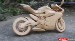 درست کردن یک موتور اسباب بازی با استفاده از چوب بستنی