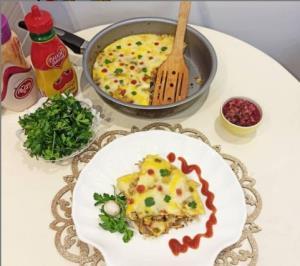 �ریتاتا یک غذای سنتی ایتالیایی با پایهٔ تخممرغ