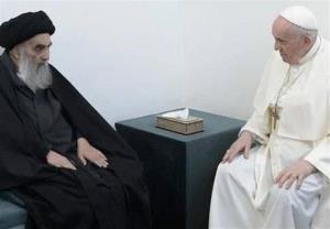 واکنش شاعرانه افشین علا به دیدار پاپ و آیت الله سیستانی
