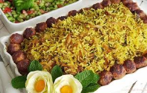 طرز تهیه کلم پلو شیرازی؛ عطر و طعمی زعفرانی