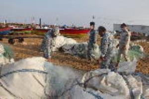 اجرای حکم قضایی در خصوص جمعآوری ادوات صید غیر مجاز در سیستانوبلوچستان