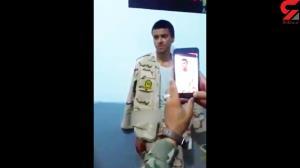 فرار سرباز دست شکسته ایرانی از ترس مافوقش به افغانستان