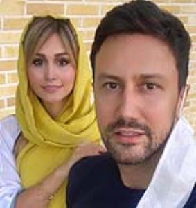 چهره ها/ شوخی شاهرخ استخری با عیدی همسرش