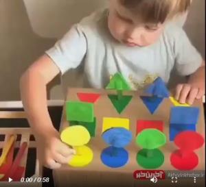 آموزش ساخت یک کاردستی آموزشی برای کودک