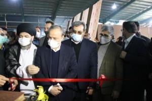 افتتاح کارخانه آرتاویل اردبیل با حضور وزیر صمت