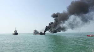 علت دود مشاهده شده در ساحل بندرعباس مشخص شد