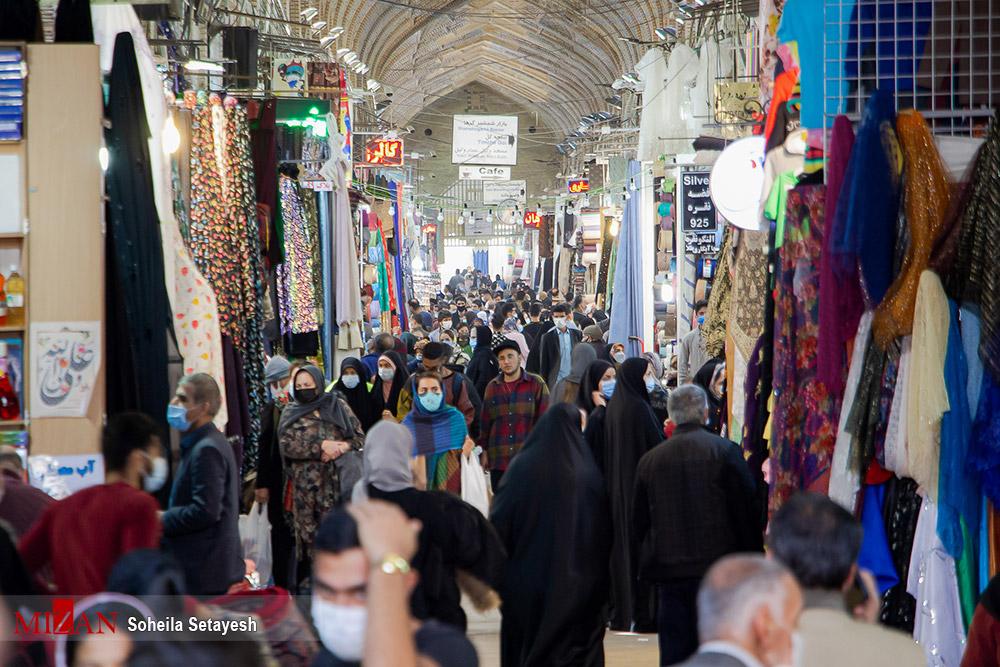 عکس/ خرید سال نو در بازار وکیل شیراز
